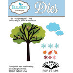 Elizabeth Craft Designs - Metal Die - All Season Tree Three Pop it Ups