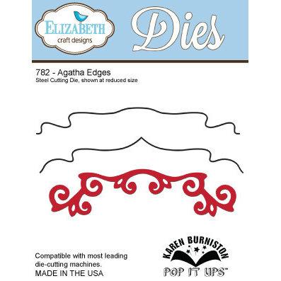 Elizabeth Craft Designs - Karen Burniston - Pop it Ups Metal Dies - Agatha Edges