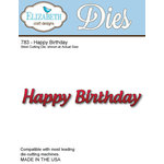 Elizabeth Craft Designs - Metal Die - Happy Birthday
