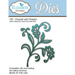 Elizabeth Craft Designs - Metal Die - Flourish With Flowers