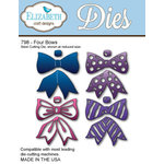 Elizabeth Craft Designs - Metal Die - Four Bows