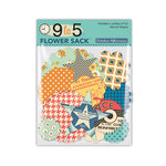 October Afternoon - 9 to 5 Collection - Flower Sack - Die Cut Cardstock Pieces