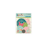 October Afternoon - Woodland Collection - Flower Sack - Die Cut Cardstock Pieces