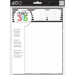 Me and My Big Ideas - Create 365 Collection - Note and Graph Paper - White