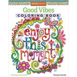 Design Originals - Good Vibes Coloring Book