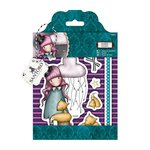 Santoro London - Gorjuss Rubber Stamp - The Dreamer