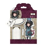 Santoro London - Gorjuss Rubber Stamp - The Hatter