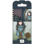 Santoro London - Gorjuss Rubber Stamp - Number 4 - Forget Me Not