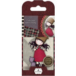 Santoro London - Gorjuss Rubber Stamp - Number 10 - Purrrrrfect Love