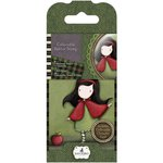 Santoro London - Gorjuss Rubber Stamp - Number 14 - Little Red