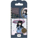 Santoro London - Gorjuss Rubber Stamp - Number 16 - Puddles Of Love