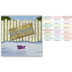 Core'dinations - The White Wash Collection - 12 x 12 Color Core Cardstock