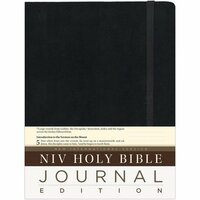 Harpercollins - NIV Holy Bible - Journaling Edition - Black