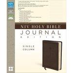 Harpercollins - NIV Holy Bible - Journaling Edition - Brown