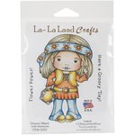 La-La Land - Cling Mounted Rubber Stamp Set - Groovy Marci