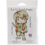 La-La Land - Cling Mounted Rubber Stamp Set - Groovy Luka