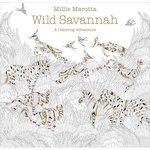 Lark Books - Coloring Book - Wild Savannah