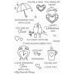My Favorite Things - Lisa Johnson Designs - Clear Acrylic Stamps - All Heart