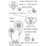 My Favorite Things - Lisa Johnson Designs - Clear Acrylic Stamps - Fly-By Friends