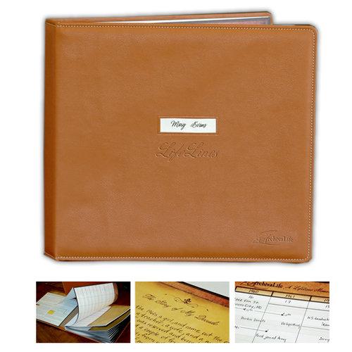 ArchivaLife - Life Lines Edition - 12 x 12 Life Lines Album - Genuine Leather