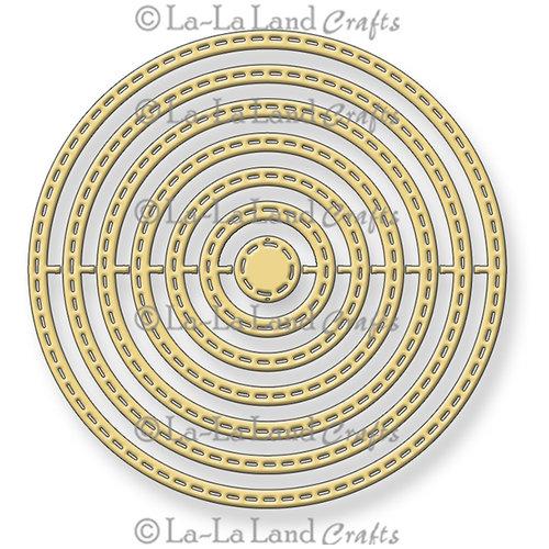 La-La Land - Die - Stitched Nested Circles