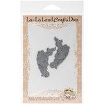 La-La Land - Dies - Heart Scroll Corners