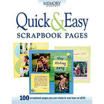 F+W Publications Inc. - Memory Makers Magazine - Quick and Easy Scrapbook Pages
