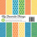 My Favorite Things - 6 x 6 Paper Pad - Painted Prints - Citrus
