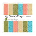My Favorite Things - 6 x 6 Paper Pad - Tribal Prints