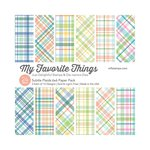 My Favorite Things - 6 x 6 Paper Pad - Subtle Plaids