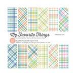 My Favorite Things - 6 x 6 Paper Pad - Subtle Plaids
