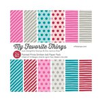 My Favorite Things - 6 x 6 Paper Pad - Painted Prints Smitten
