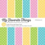 My Favorite Things - 6 x 6 Paper Pad - Lucky Prints