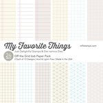 My Favorite Things - 6 x 6 Paper Pad - Off The Grid