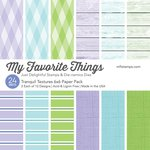 My Favorite Things - 6 x 6 Paper Pad - Tranquil