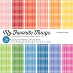 My Favorite Things - 6 x 6 Paper Pad - Country Fair Plaid