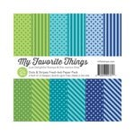 My Favorite Things - 6 x 6 Paper Pad - Dots and Stripes Fresh