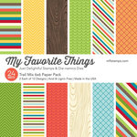 My Favorite Things - 6 x 6 Paper Pad - Trail Mix