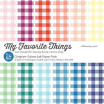 My Favorite Things - 6 x 6 Paper Pad - Gingham Galore