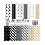 My Favorite Things - 6 x 6 Paper Pad - Dots and Stripes Neutral