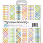 My Favorite Things - 6 x 6 Paper Pad - Plaid