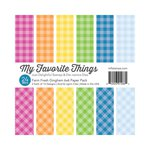 My Favorite Things - 6 x 6 Paper Pad - Farm Fresh - Gingham