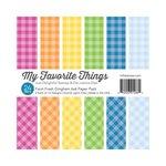 My Favorite Things - 6 x 6 Paper Pad - Farm Fresh - Gingham