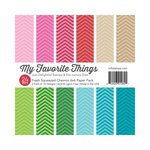 My Favorite Things - 6 x 6 Paper Pad - Fresh Squeezed - Chevron