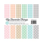 My Favorite Things - 6 x 6 Paper Pad - Homespun - Gingham