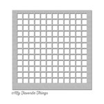 My Favorite Things - MIX-ables Stencil - Large Grid