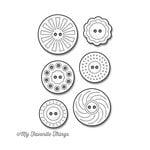 My Favorite Things - Die-Namics - Dies - Vintage Buttons