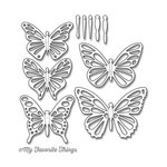 My Favorite Things - Die-Namics - Dies - Lace Butterflies Flutter
