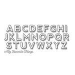 My Favorite Things - Die-Namics - Dies - Bottlecap Letters