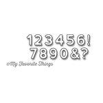 My Favorite Things - Die-Namics - Dies - Bottlecap Numbers